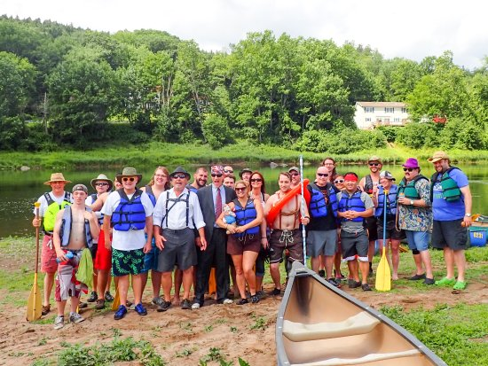 Narrowsburg, NY: Great for large groups