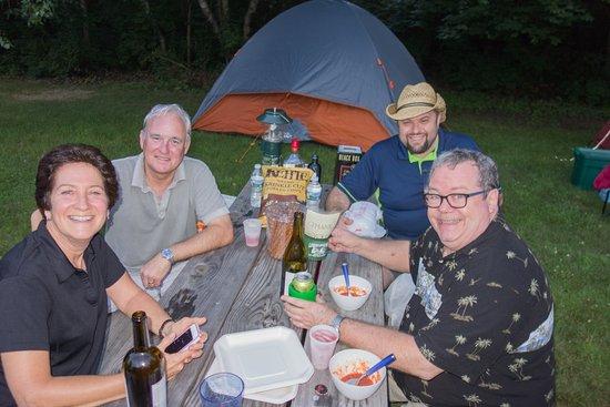 Narrowsburg, NY: Great camping spots