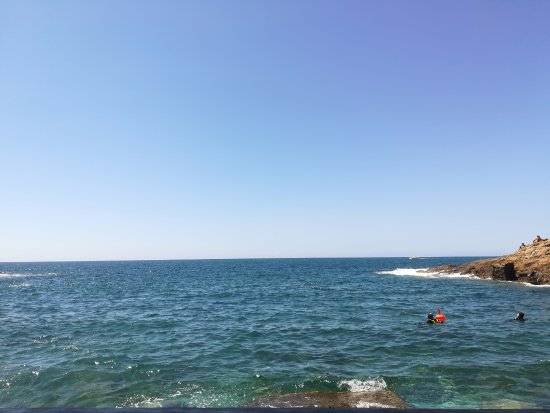 Costiera di Calafuria: Il mare