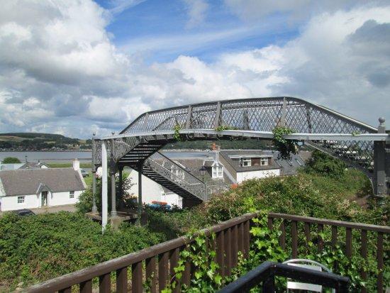 Clachnaharry Inn: view form beer garden