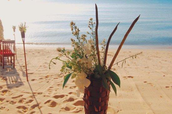 Lipa Noi, Thailand: Our Wedding Ceremony.