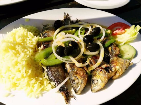 Ramsgate, South Africa: Sardines Portuguese style, very tasty.