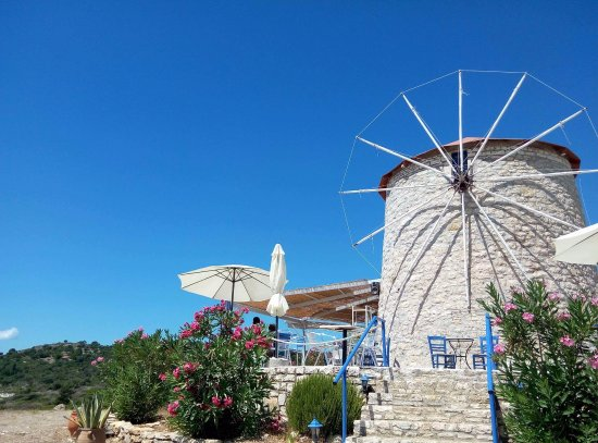 Kastos Island, Grecia: Mylos cocktail bar