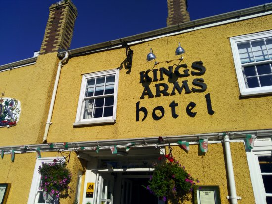 Kings Arms Hotel Restaurant: IMG_20170724_082449_large.jpg