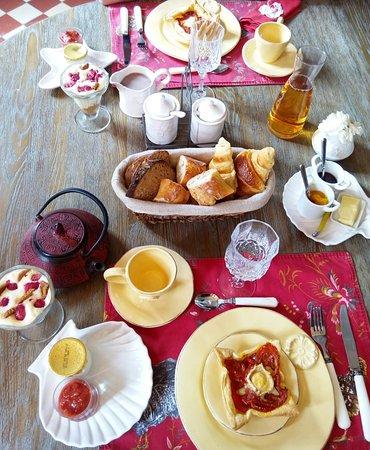 La Maison du Parc: Petit-déjeuner
