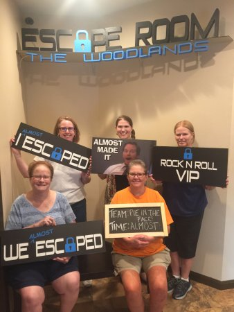 ‪‪Escape Room The Woodlands‬: So close, ladies!  Glad y'all had a great time!‬