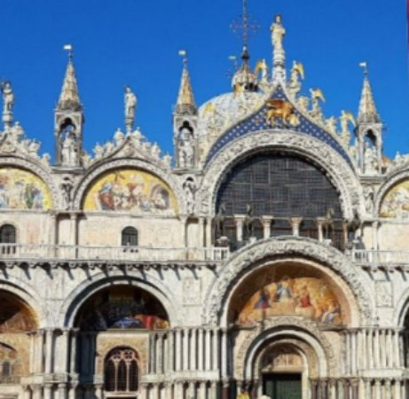 Faccuata esterna picture of basilica di san marco for Esterno basilica di san marco