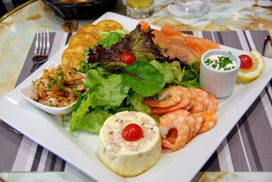 """Résultat de recherche d'images pour """"photo plat de salade nordique"""""""