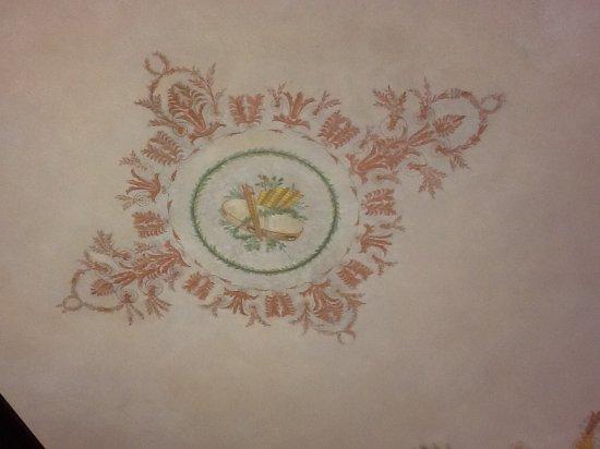 Best Western Hotel Principe: Fresque au plafond de la chambre