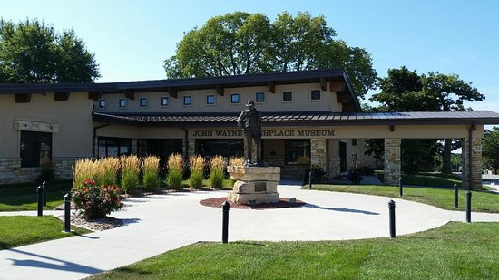 Winterset, IA: Heavenly Habitat B&B is located just 1 minute from the John Wayne Birthplace Museum