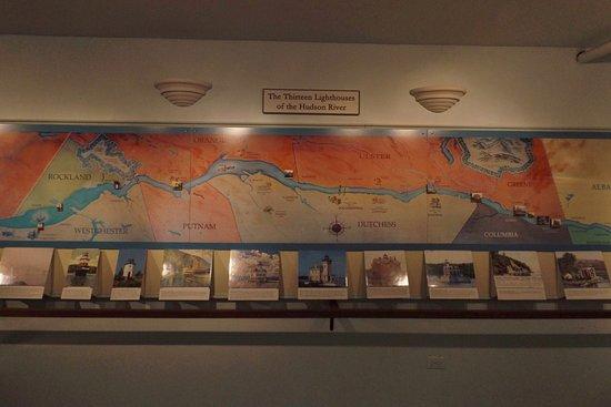 Kingston, NY: Thirteen lighthouses on the Hudson