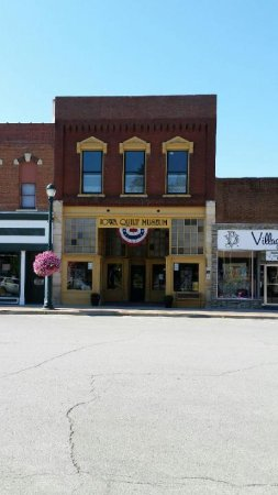 Winterset, IA: Iowa Quilt Museum located just 2 blocks from our B&B