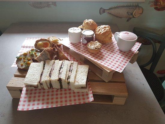 Stokes Lawn Café: Lincolnshire afternoon tea
