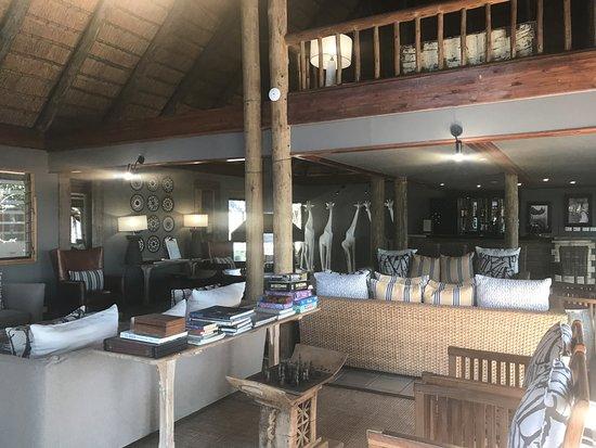 Savute Safari Lodge: The Main Lodge