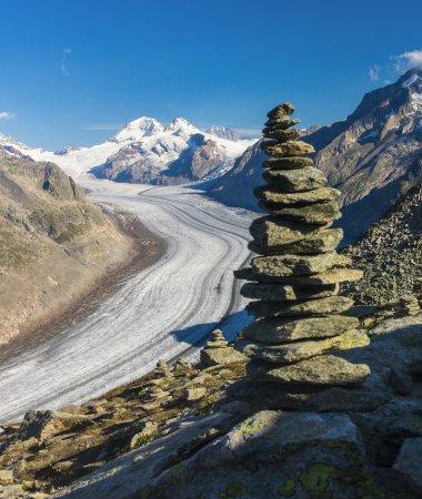 Aletsch Glacier: Selbstgebaut