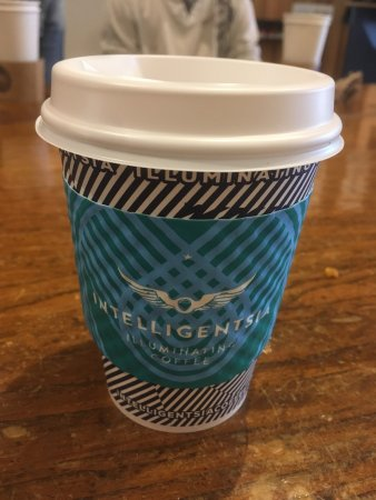 Intelligentsia Coffee: Thanks for my morning latte!