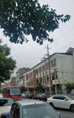 Yongji, China: 街道景