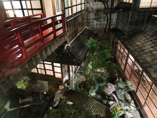 Hoshidekan: 中庭
