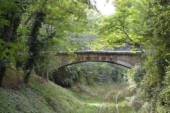 Guitres, ฝรั่งเศส: petit pont