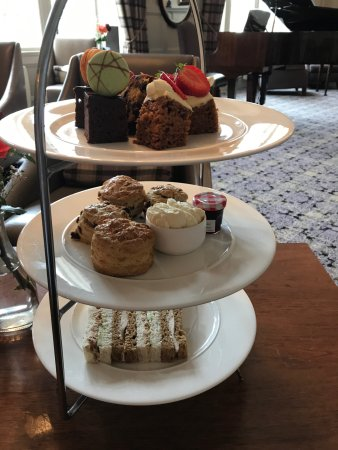 Afternoon tea - beautifully presented