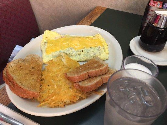 Savage, Minnesota: veggie omelet