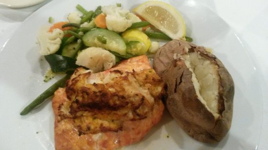 Concordville, PA: Stuffed Atlantic Salmon