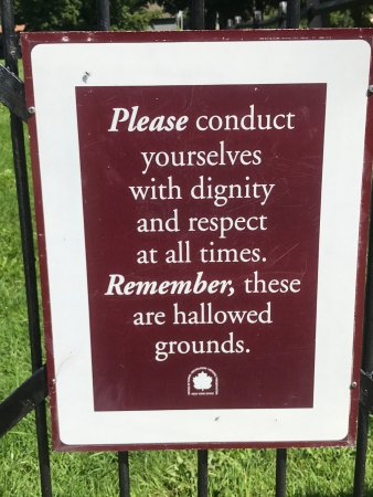 Oriskany, NY: proper conduct