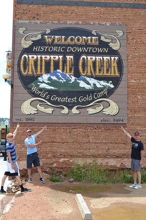 Cripple Creek & Victor Narrow Gauge Railroad: We are here!