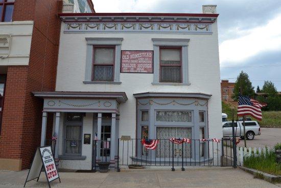 Cripple Creek & Victor Narrow Gauge Railroad: Old Homestead Museum - original building 119 years old