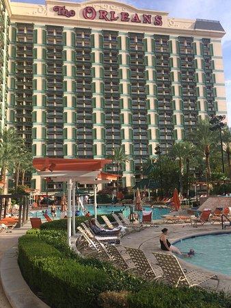 The Orleans Hotel & Casino: Der Hotelpool