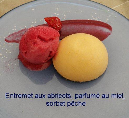 Satigny, Suiza: Cafe-de-Peney-B70727-6-Entremet-menu75