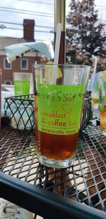 Damariscotta, Maine: iced tea