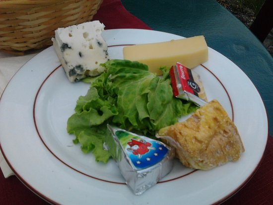 Lavacourt, France: Assiette de fromage
