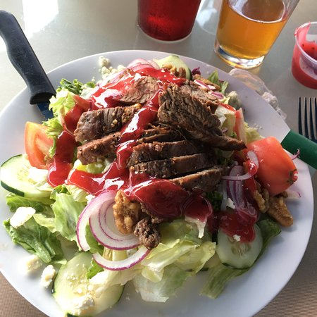 Sharpsburg, PA: Bistro Steak Salad. Simple, tasty.