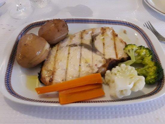 Restaurante-Bar Meridiano : Espadon & Daurade grillée 👍