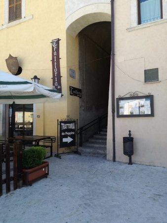 Leonessa, Italia: L'angolo della Trattoria