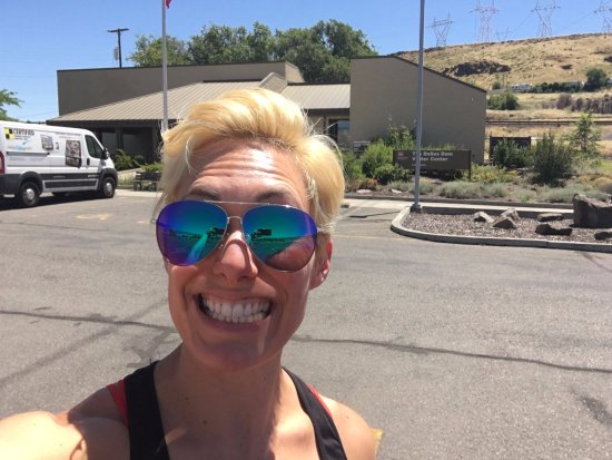Dalles Dam: at the visitors center