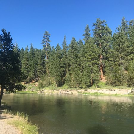 Deschutes River at La Pine State Park Campground