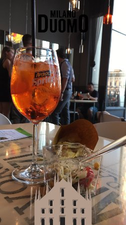 Free Snacks And Aperol Spritz Picture Of Terrazza Aperol