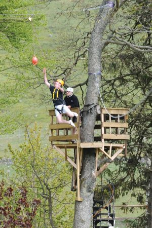 Spittal of Glenshee, UK: The leap of faith