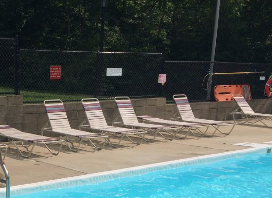 Canyon Inn: Conveniently located right next to the Inn as well as the tennis and basketball courts