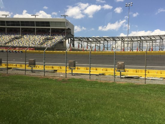 View Of Race Track Picture Of Charlotte Motor Speedway