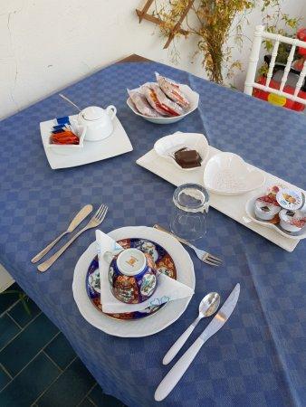 La Casa Di Bruno: La colazione in terrazza