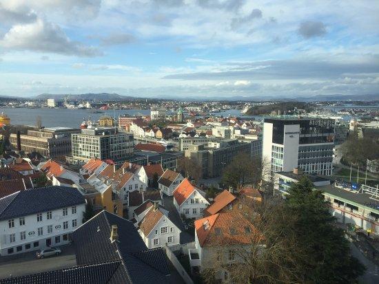 Clarion Hotel Stavanger: Vistas de la ciudad de stavenger