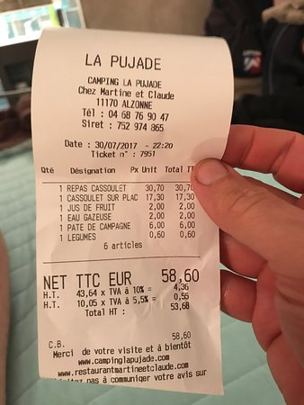 Alzonne, Francia: Chez Martine et Claude