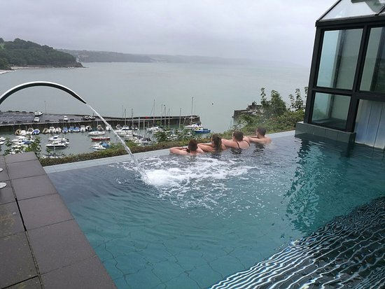 View From Infinity Pool Picture Of St Brides Spa Hotel Saundersfoot Tripadvisor
