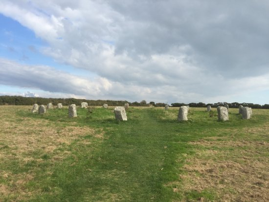 Lamorna, UK: Of all the rings to visit, this is the easiest to find