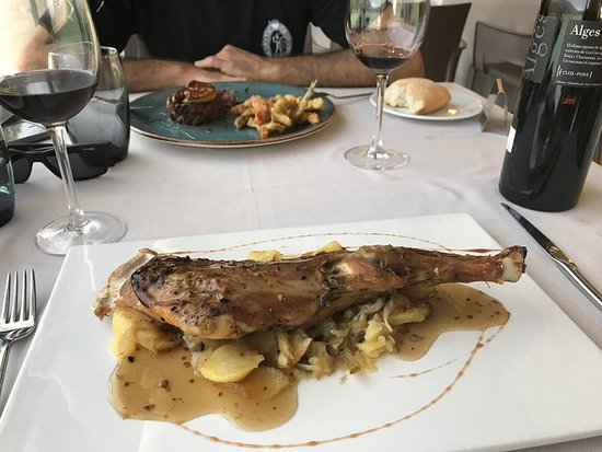 Cellers, Spain: Restaurant del Llac