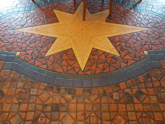 Mercer tile floor picture of 1741 on the terrace for 1741 on the terrace