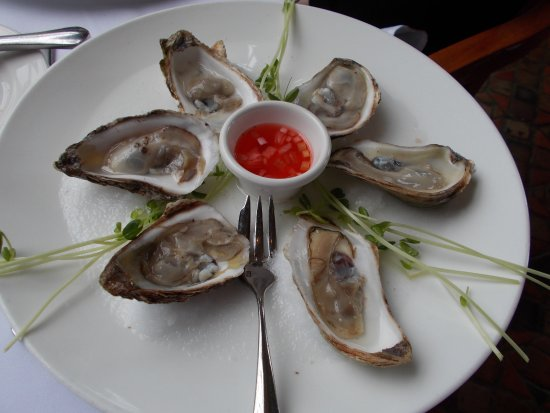 Fresh oysters picture of 1741 on the terrace bethlehem for 1741 on the terrace